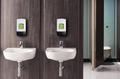 hanzl duroline 1 Litre hand hygiene and skincare dispenser for washrooms