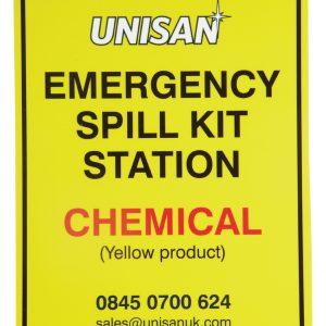 Emergency Spill Kit Station Sign
