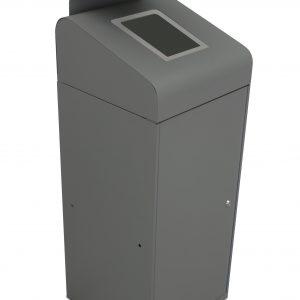 urban bin with rain hood