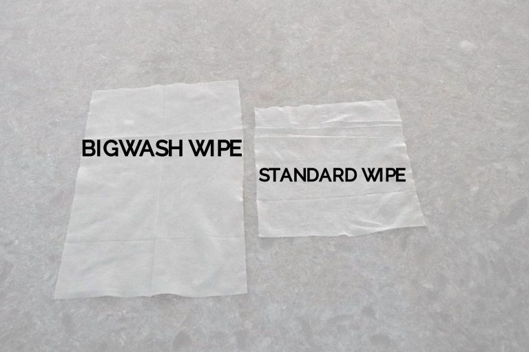 large bigwash antibacterial and antiviral wipes for sanitising hands and surfaces