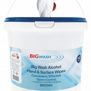 Big Wash alcohol Surface Wipes certified to kill covid and bacteria and viruses, alcohol hand wipes bucket