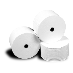 2-ply toilet paper rolls soft and white