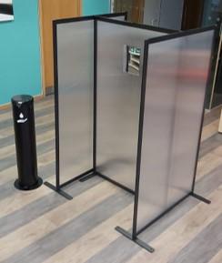Unisan covid test booth starter kit