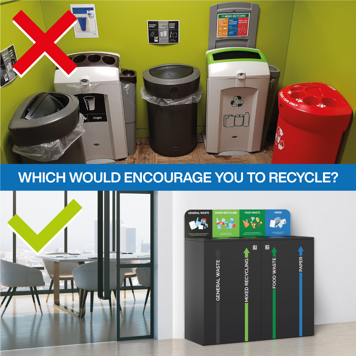 how to encourage your staff to recycle better