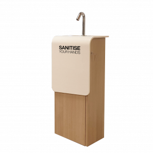 Decoro Sanitiser Station for hand hygiene in the workplace