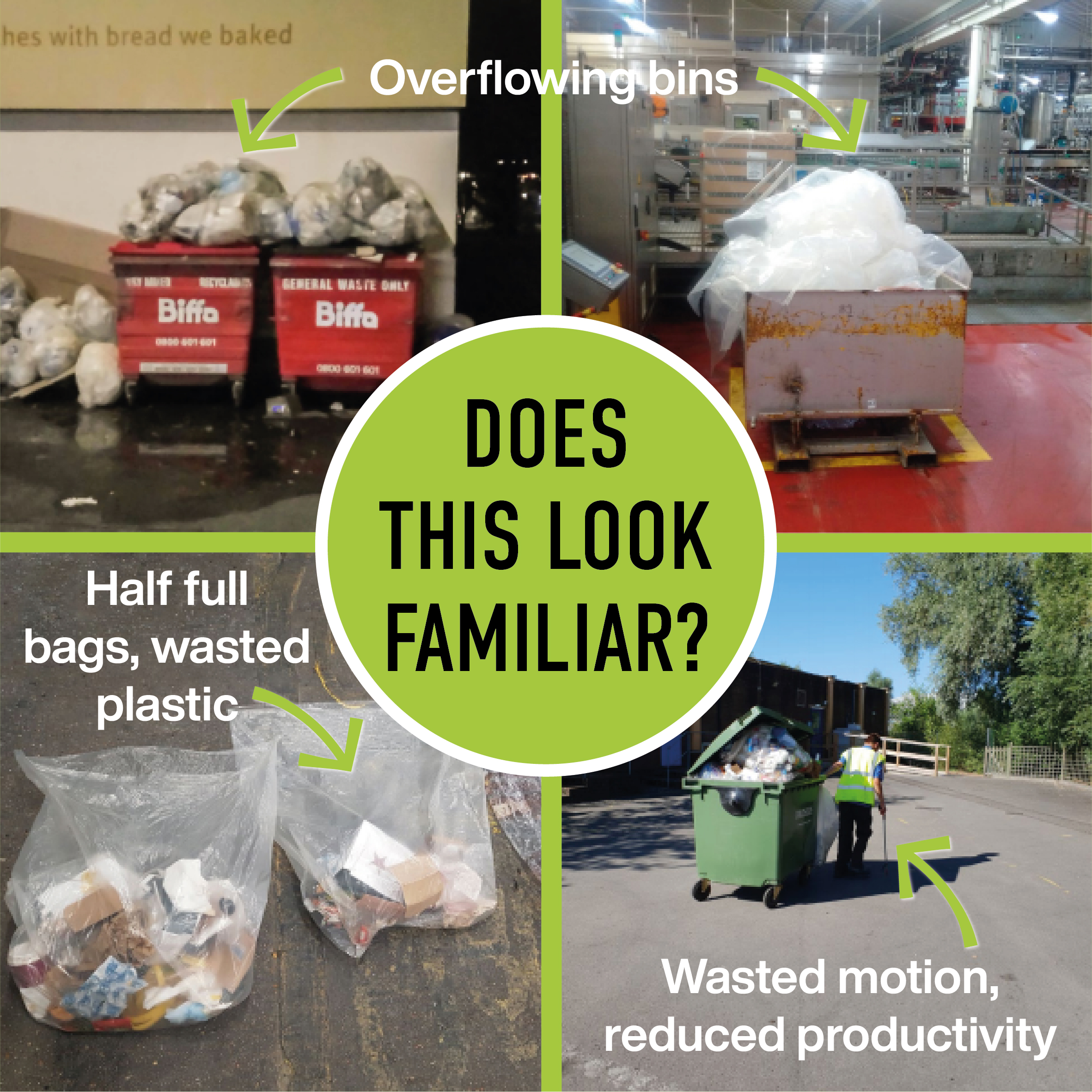 quickly and easily Reduce Plastic (and Carbon Footprint) in your Distribution Centre Warehouse Processing Centre