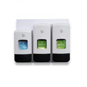 Duroline hand wash wallboard with skin protection cream light and heavy duty hand wash