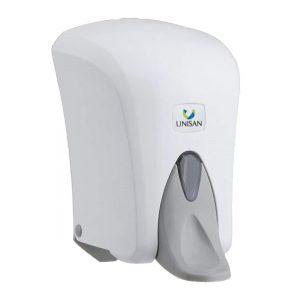 HZ5000R - Hanzl Soap, sanitiser Gel Dispenser - 1L Cap. manual refillable elbow operated