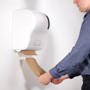 Touch Free Paper Towel Dispenser System