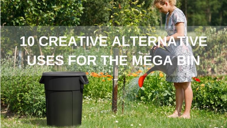 Innovative alternative ideas for using the mega bin container