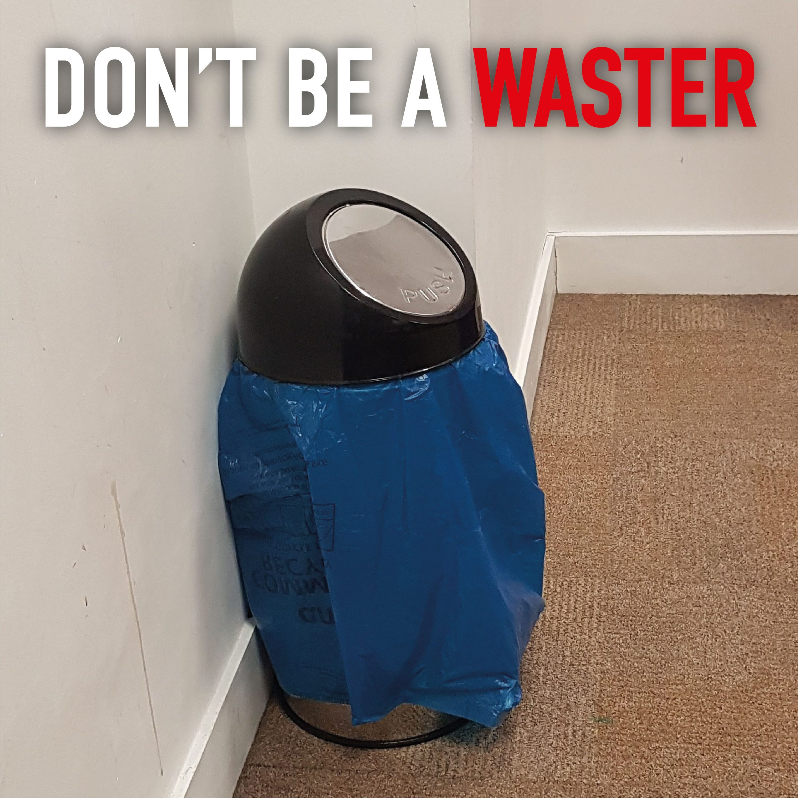 don't waste plastic with bin liners choose longopac