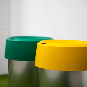 50L Recycling Bin with coloured lids