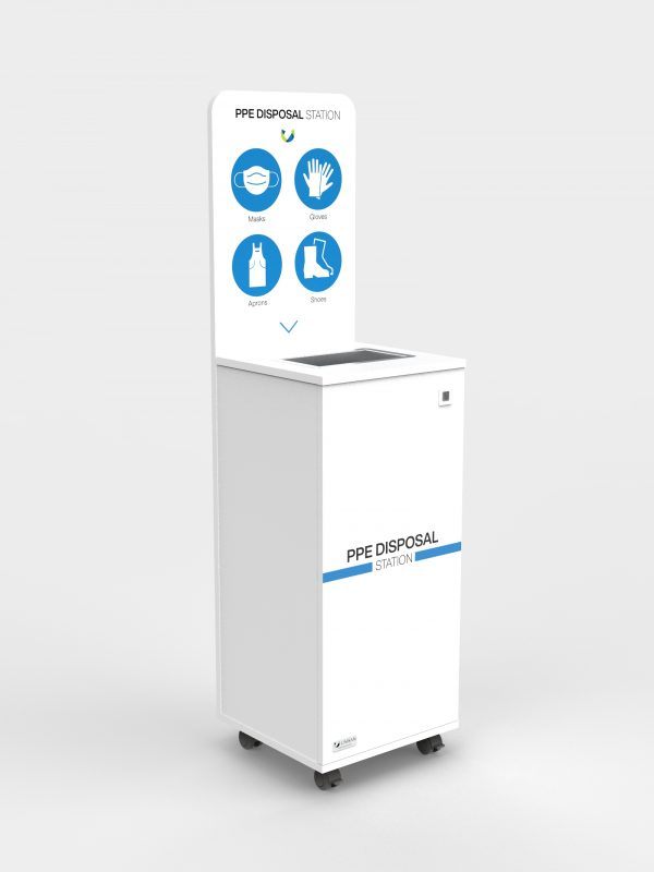 PPE Disposal Station - Without Sanitiser dispenser
