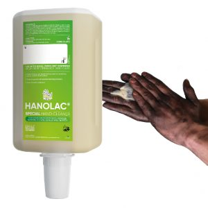 2000ml hanzl hanolac industrial heavy duty grit hand scrubber cleaner for tar paint resins and more