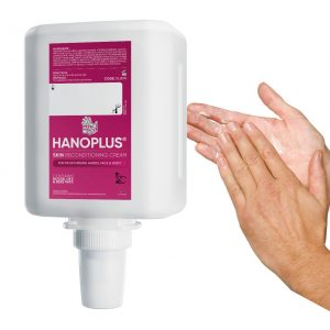 1000ml hanzl hanoplus after work cream for skin reconditioning suitable for sensetive and chapped dry hands