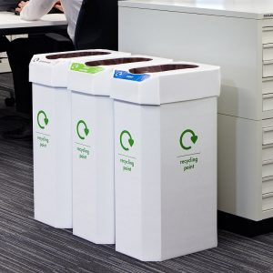 60L recycling bin for offices