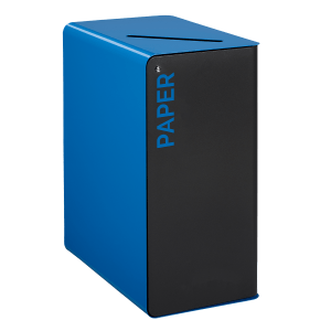 cube paper waste bin with secure lock suitable for confidential waste