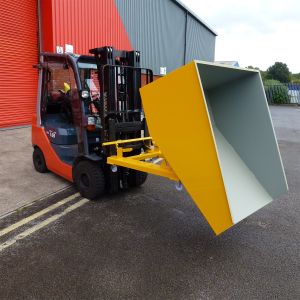 Industrial roll forward skip