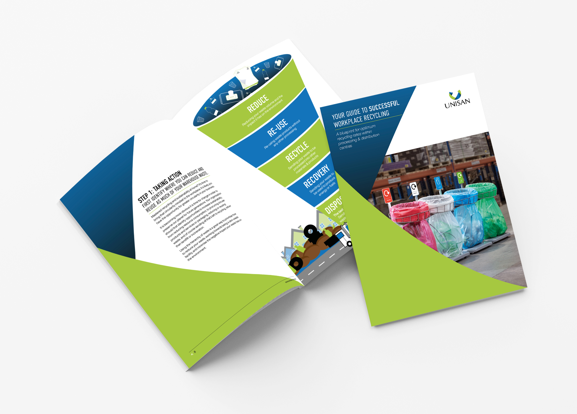 Recycling Guide for Processing & Distribution Centres and warehouses and manufacturing