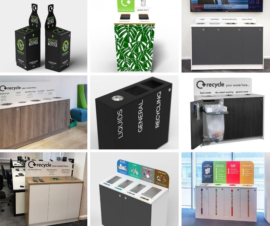 Recycling bin gallery