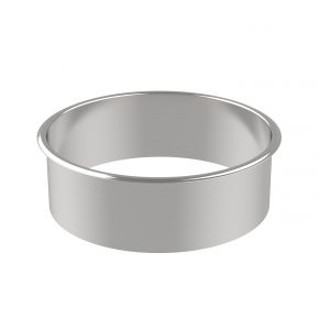 Retrofit 220 Waste Ring circular waste chute for countertops