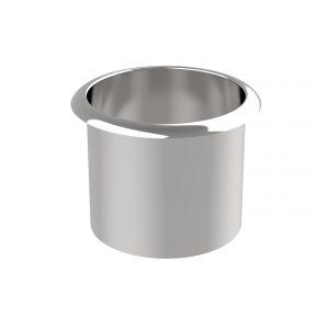 round waste chute stainless steel