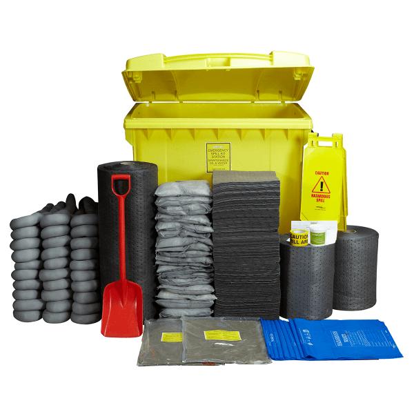 1100L Maintenance IBC Wheeled Spill Kit
