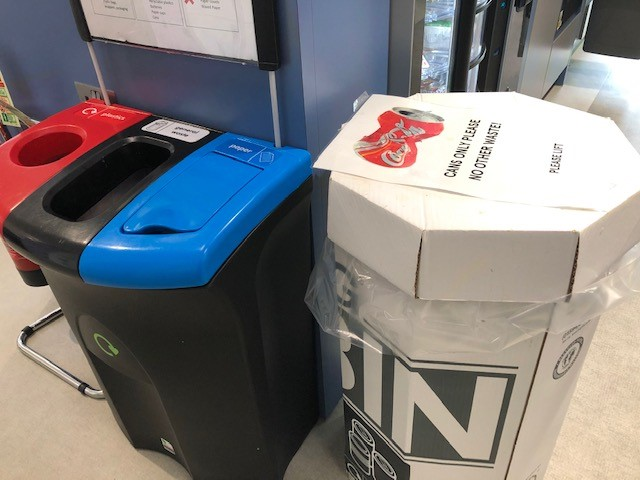 bad amenities recycling