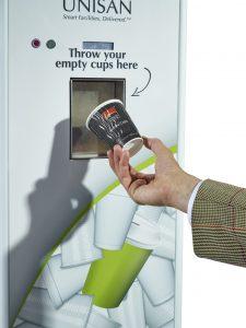 cafe crush reverse vending machine