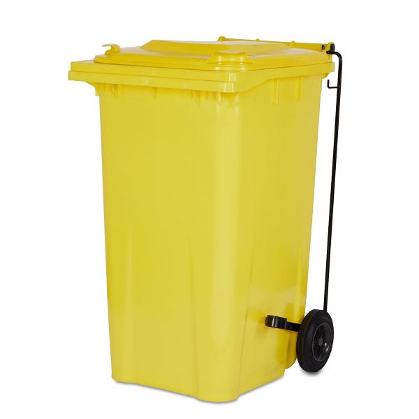 contactless bin touch free pedal for wheelie bin