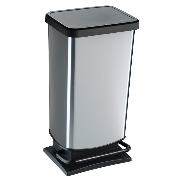 WB8941 unisort elite silver bin with large foot pedal