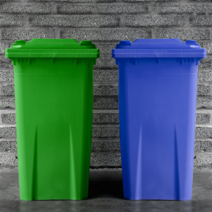 Coloured wheelie bin heavy duty