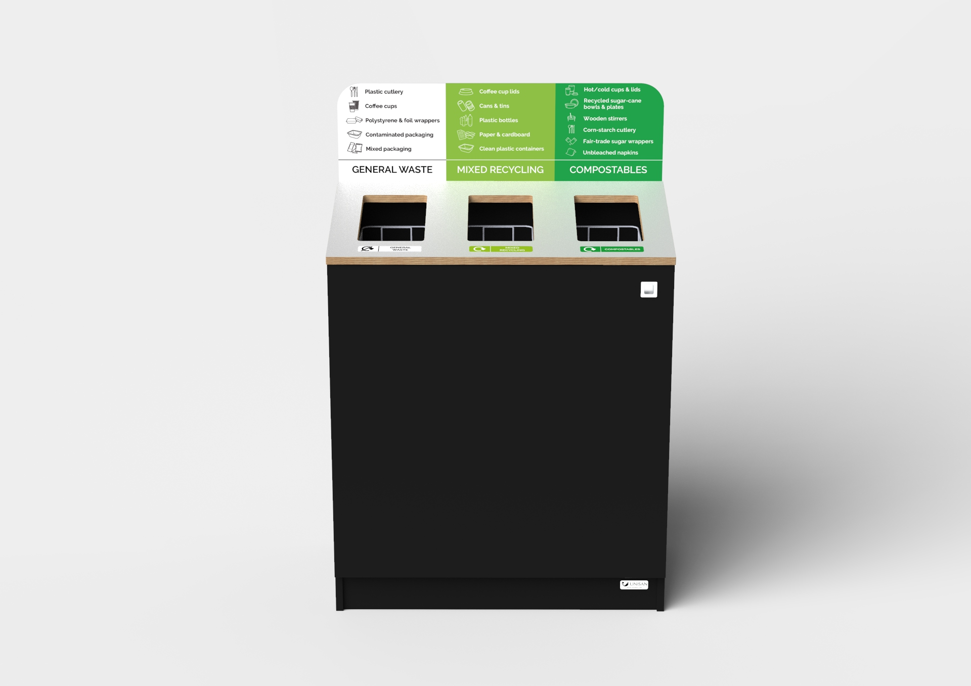 office recycling bin for large corporate offices