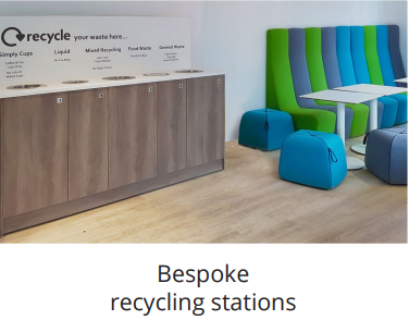 bespoke tailor made recycling bins