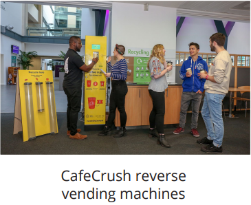 cafecrush reverse vending machines for bottle and can recycling