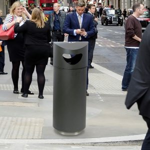 capital recycling bin outdoor