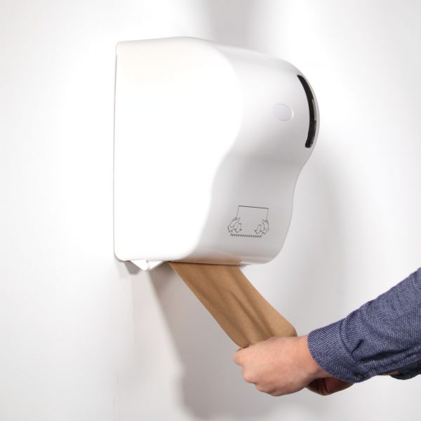 contactless hand towel dispenser with eco roll