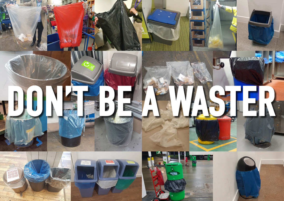 don't waste plastic in your warehouse or distribution centre