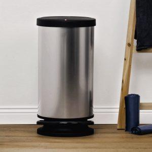 elite 30 litre hygienic touch free pedal bin