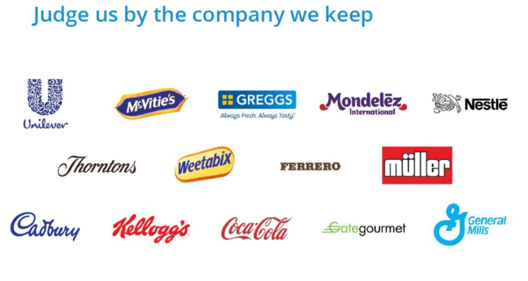 food factories we work with