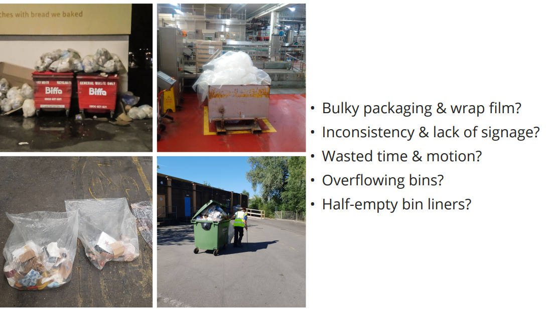 how to recycle more in a warehouse