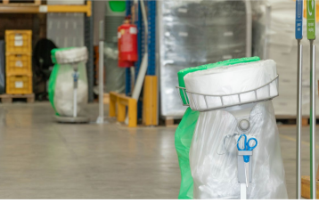 how to reduce plastic in a pick and pack logistics centre