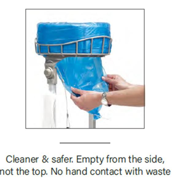 hygienic bin system