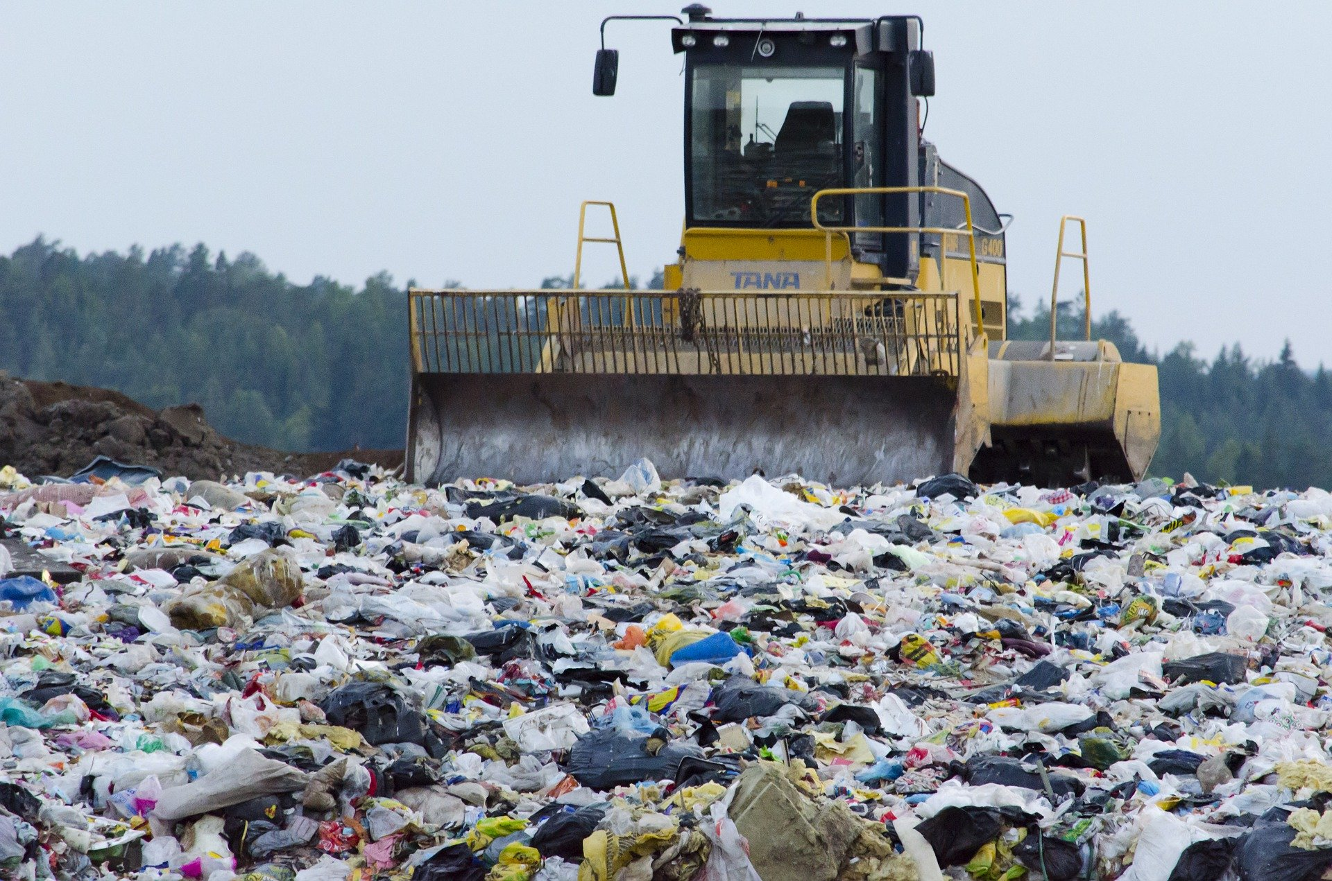 landfills are a cause of pollution