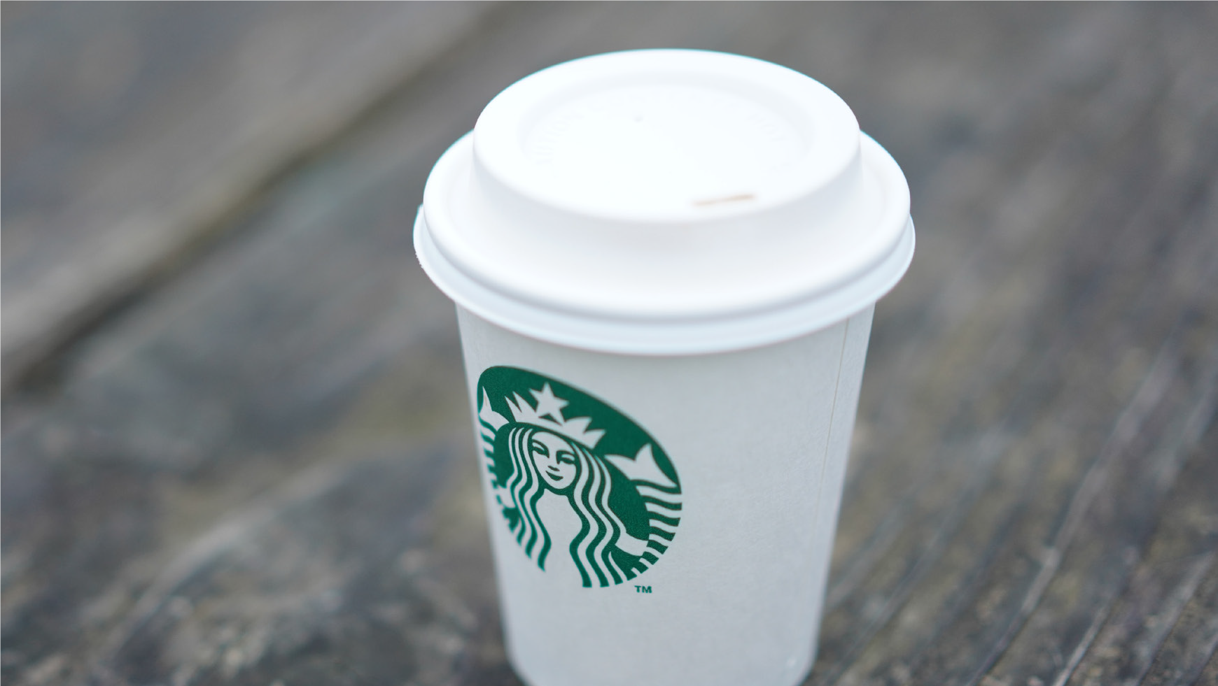 starbucks disposable coffee cup
