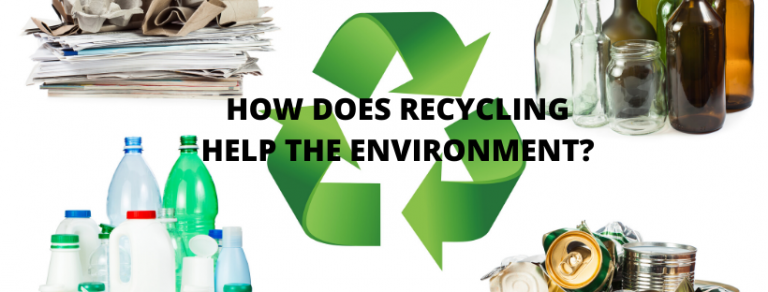 HOW DOEs recycling help the environment? how do recycling bins help the environment?