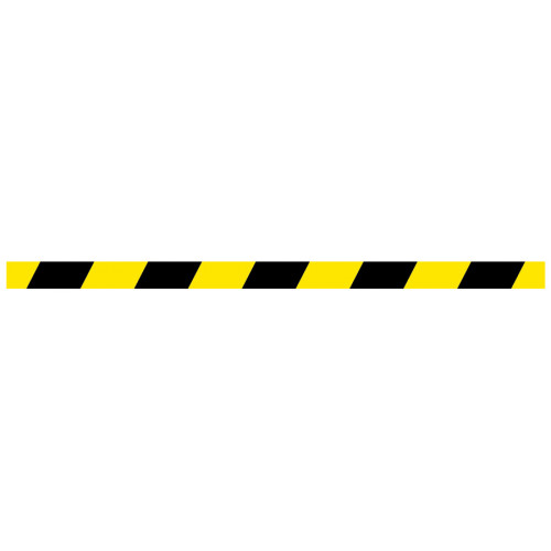 yellow and black stripe floor safety tape
